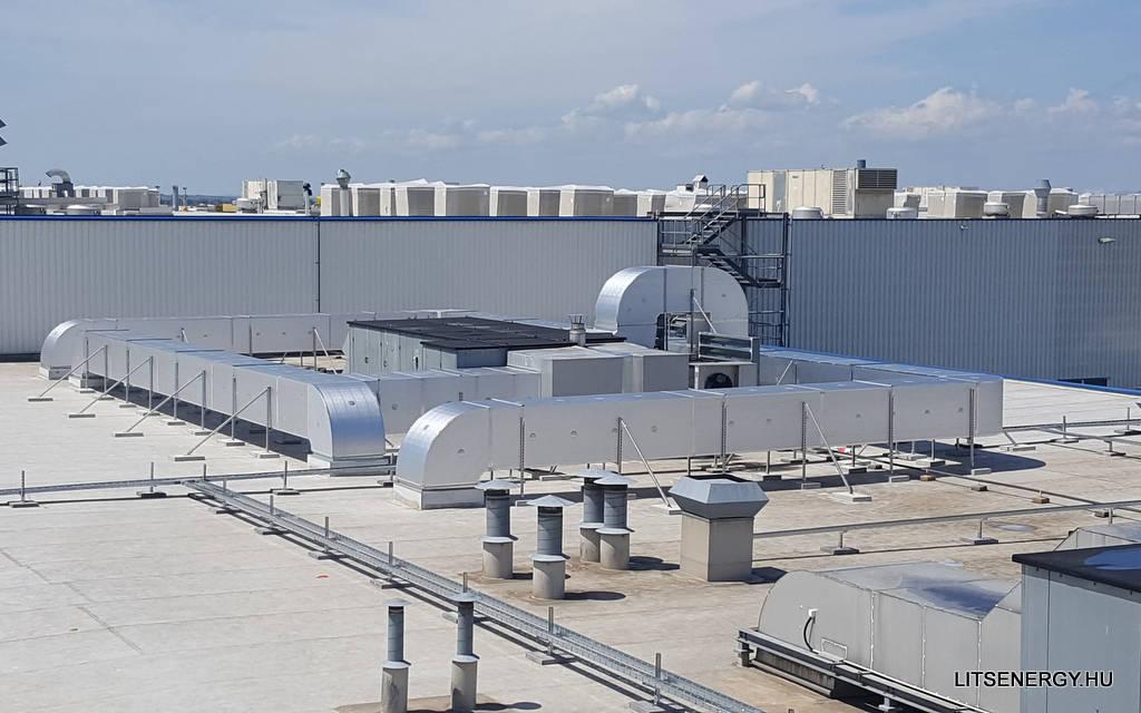 ALP légcsatorna ALP előszigetelt panelekből